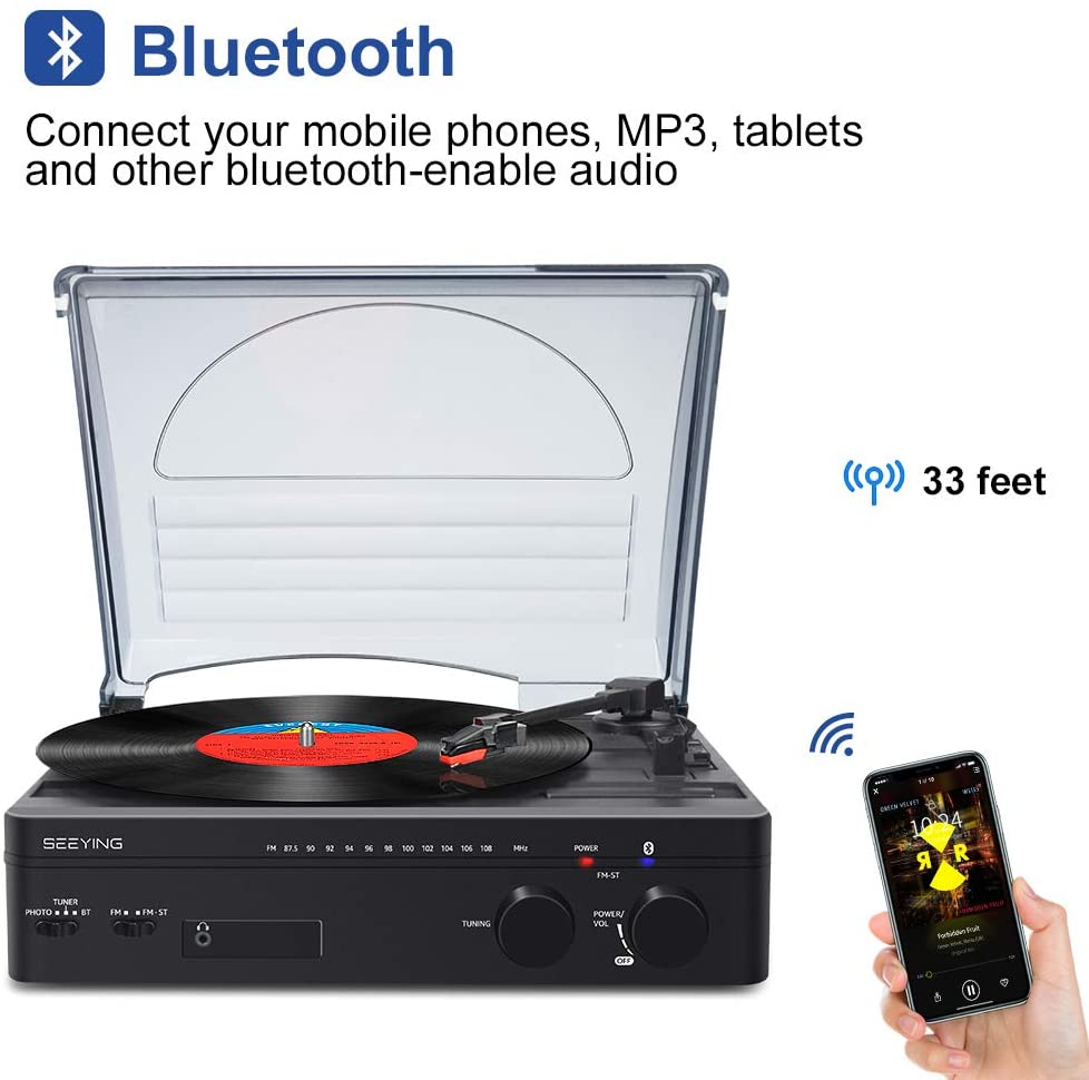 SeeYing Turntable Stereo