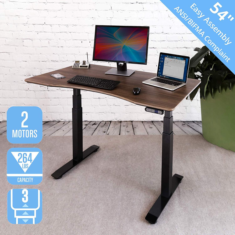 Seville Classics OFFK65826 AIRLIFT Desk