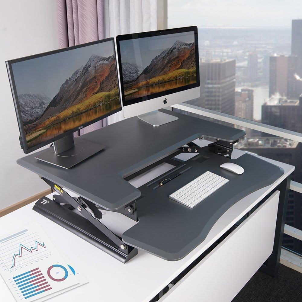 """Standing Desk, TaoTronics 36"""" Stand Up Desk"""