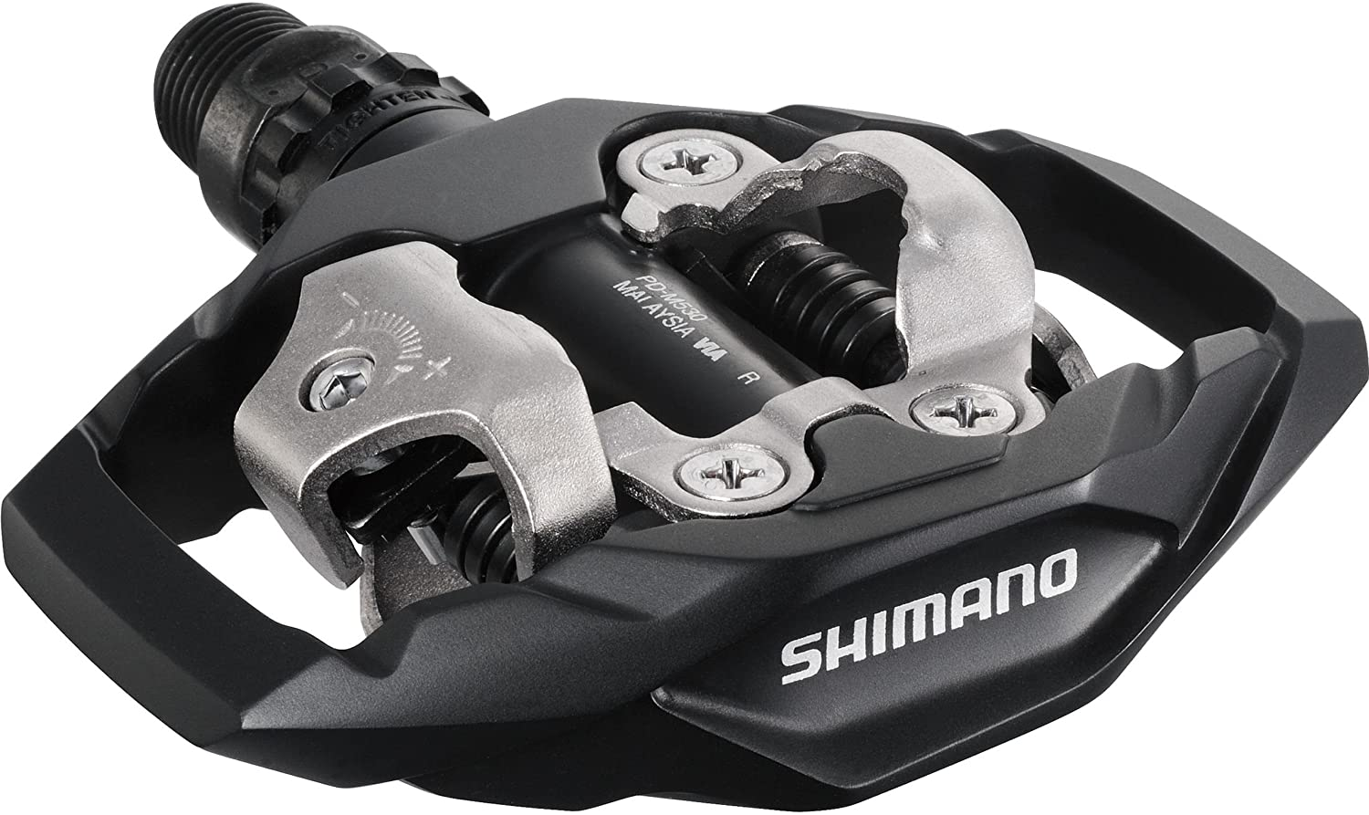 The SHIMANO PD-M530 Mountain Pedals
