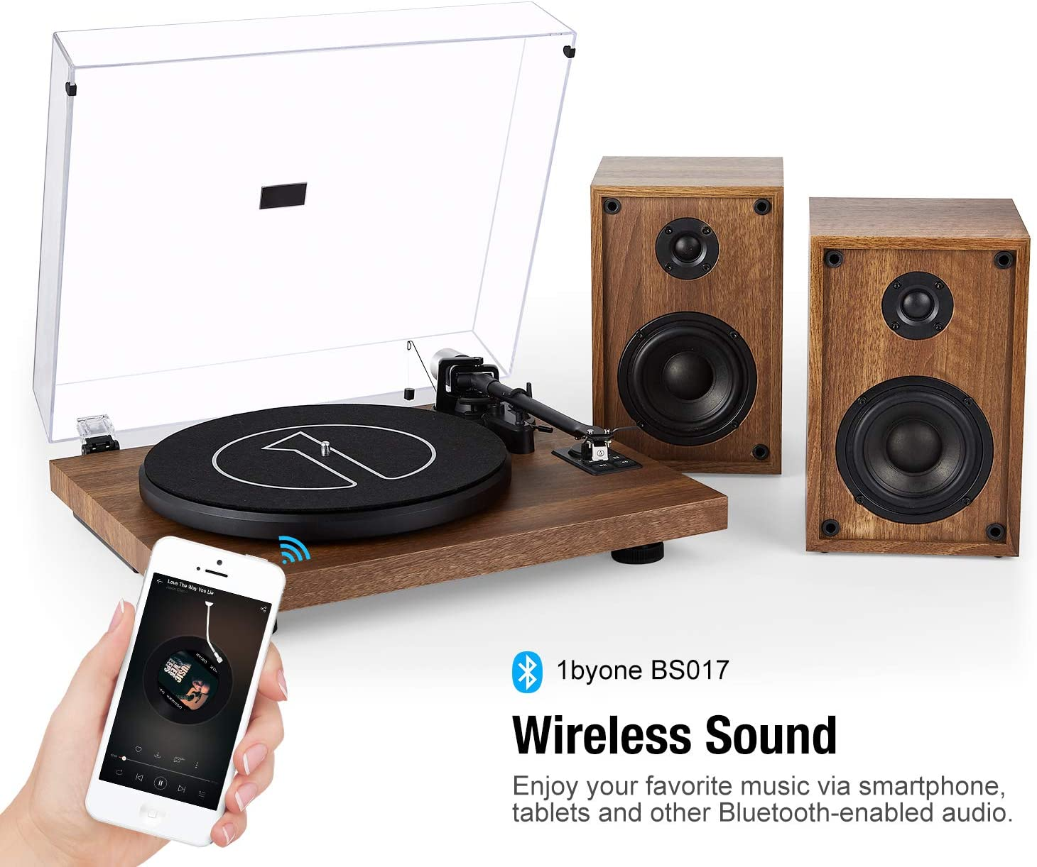 Wireless turntable by one by One