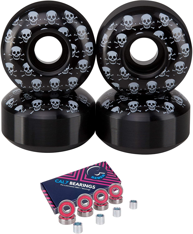 Cal 7 52mm Skateboard Wheels with Bearings