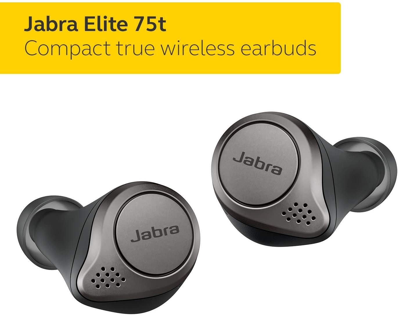 Jabra Elite 75t Earbuds Comfortable