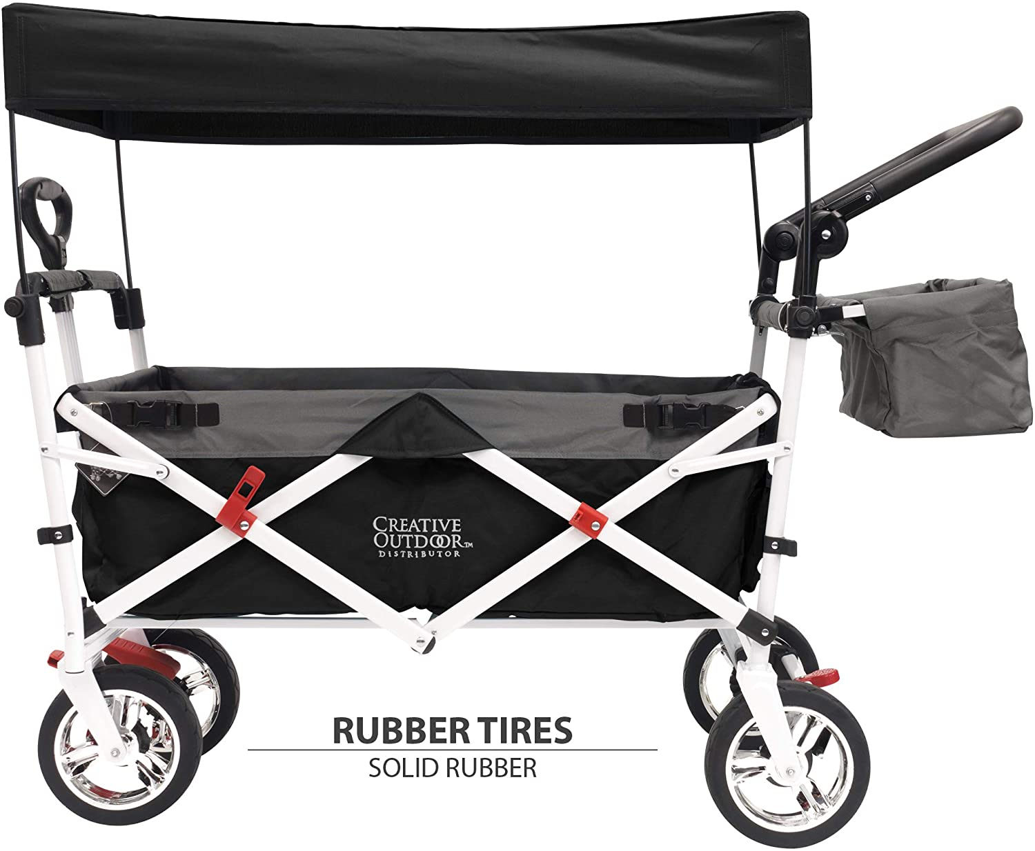 Creative Outdoor Distributor Push-Pull Collapsible Folding Wagon