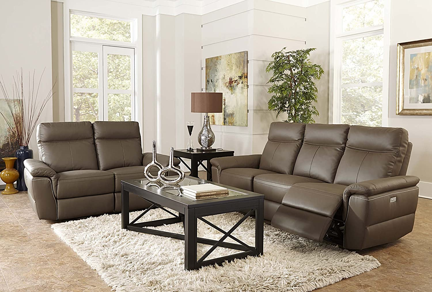 Homelegance Olympia Reclining Loveseat