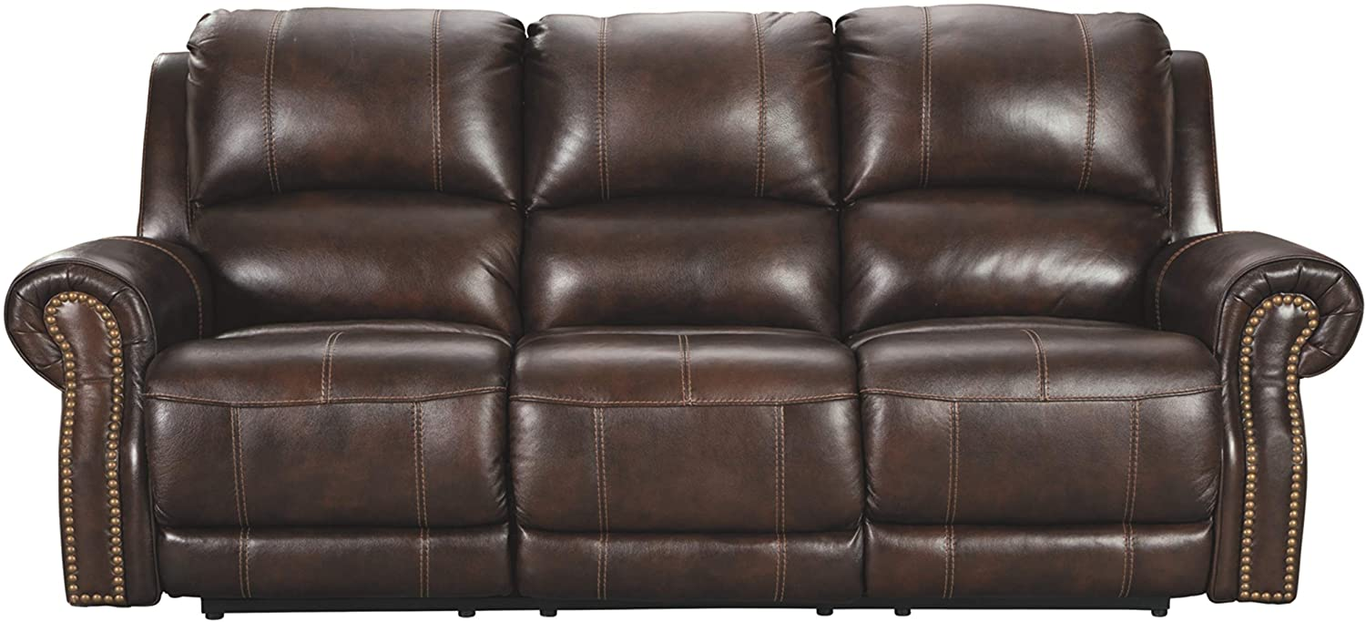 Signature Design by Ashley Buncrana Power Reclining Sofa