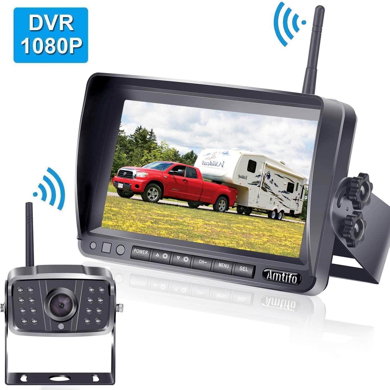 AMTIFO FHD 1080P Digital Wireless Backup Camera