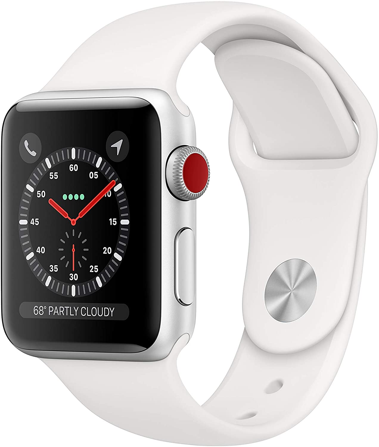 Apple Watch Series 3 (GPS + Cellular, 38mm) - Silver