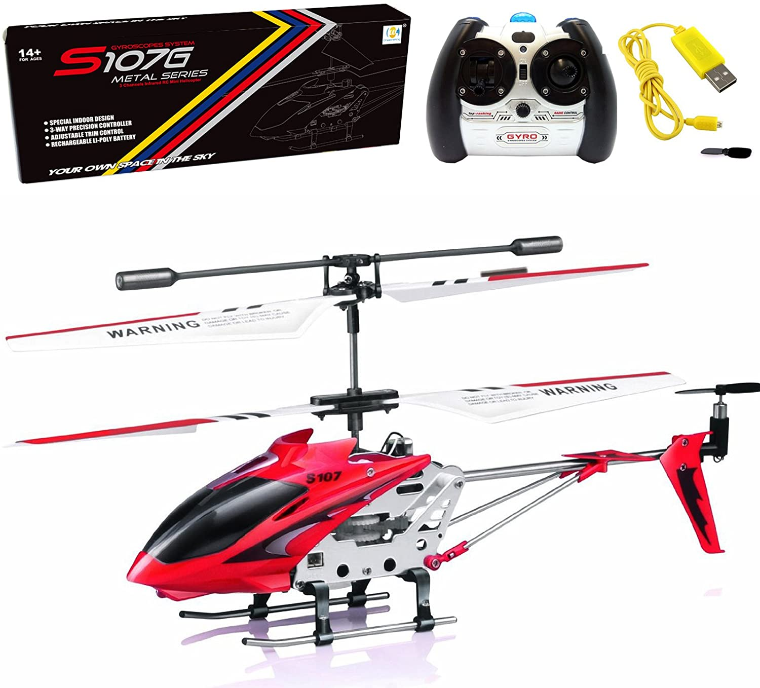 Cheerwing Phantom 3.5 Channel Mini RC Helicopter S107/S107G