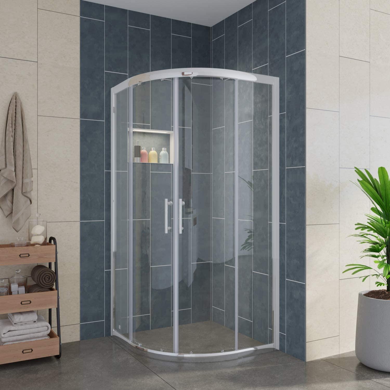 ELEGANT Center on Sliding Shower Enclosure