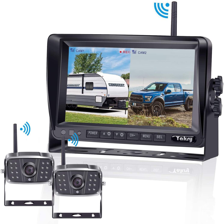 FHD 1080P Digital Wireless 2 Backup Camera