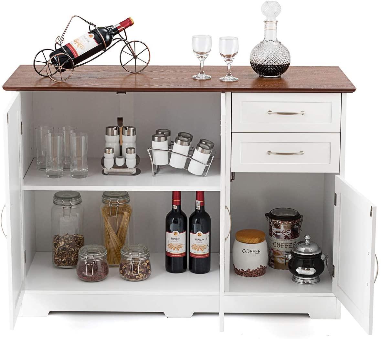 Giantex Buffet Server Sideboard Storage Cabinet