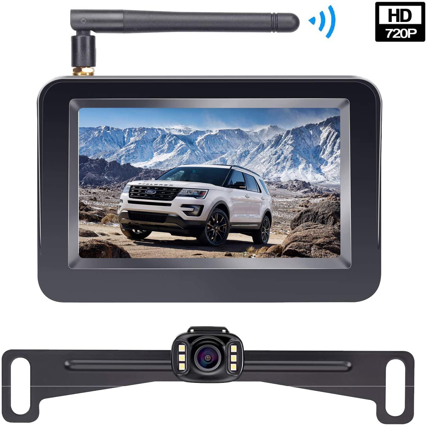 HD Wireless Backup Camera