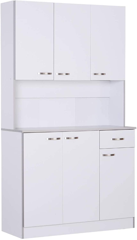"""HOMCOM 71"""" Modern Freestanding Kitchen Cabinet"""