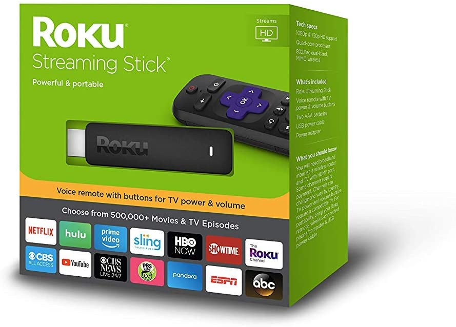 Roku 3800RW Streaming Stick