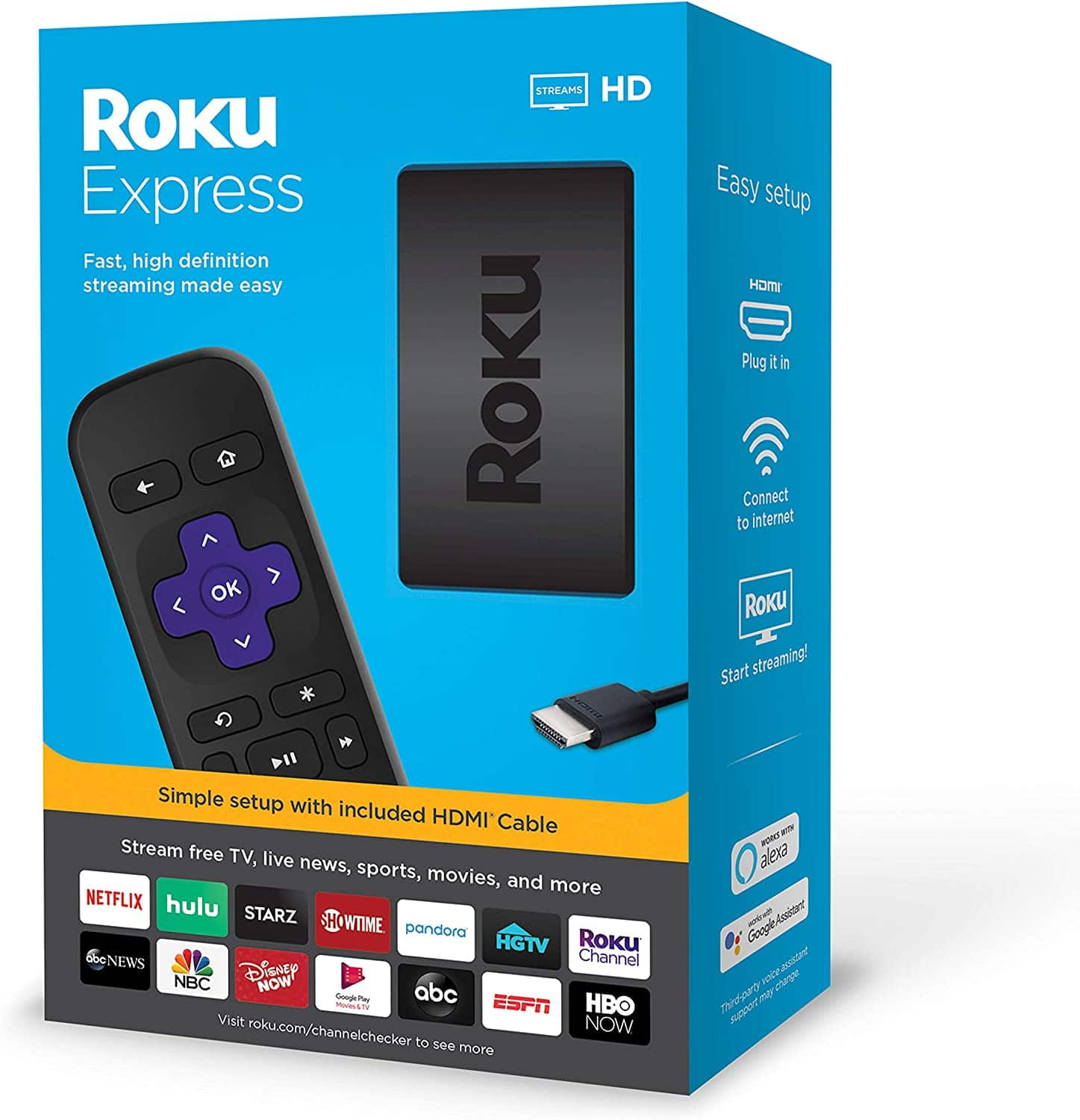 Roku Express HD Streaming
