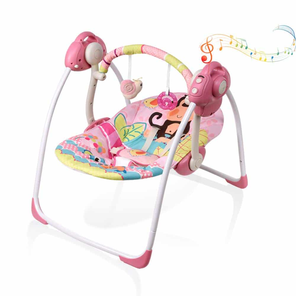 VASTFAFA Soothing Portable Swing