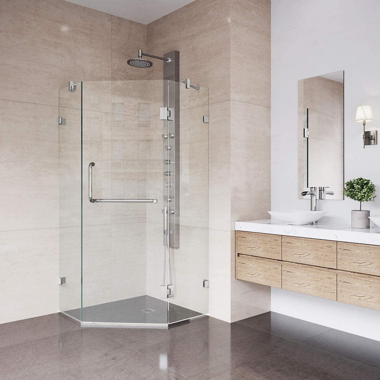 VIGO VG6062BNCL36 Shower Enclosure
