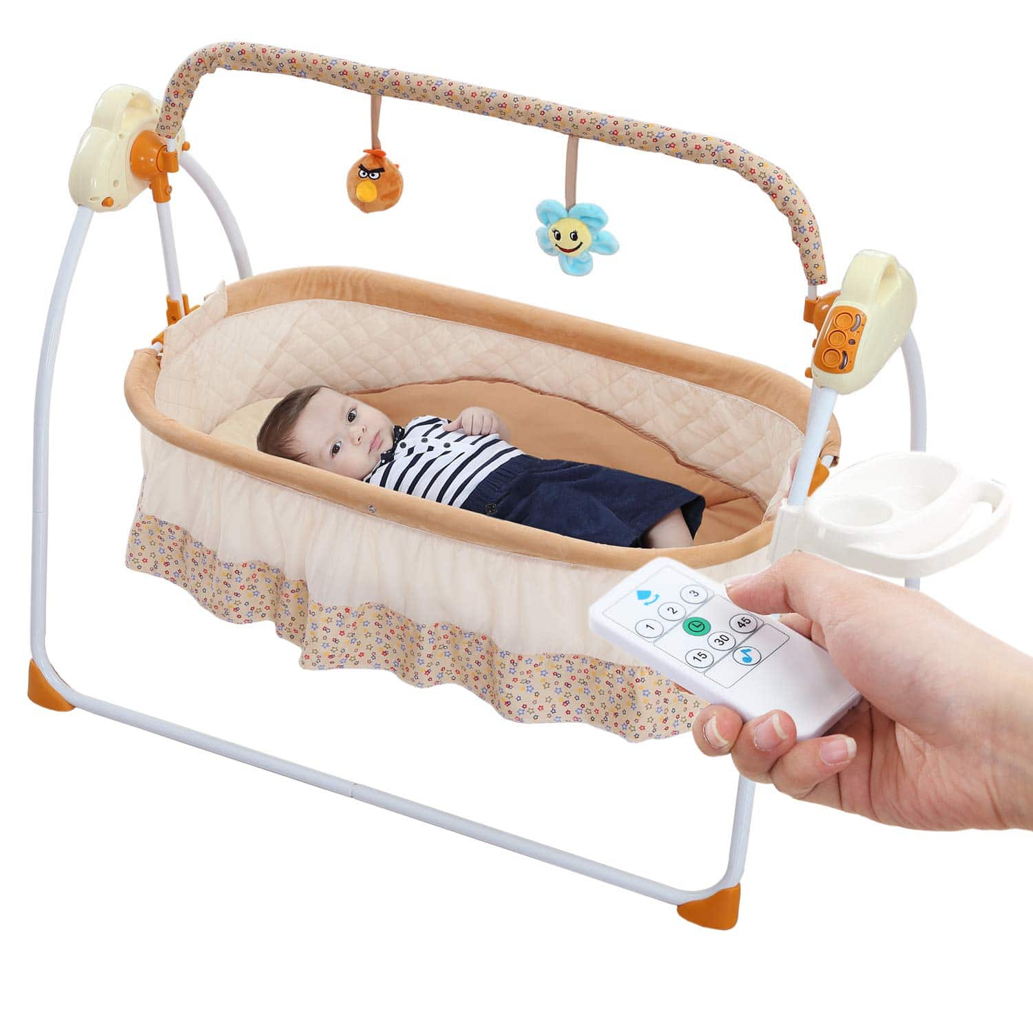 WBPINE Baby Cradle Swing
