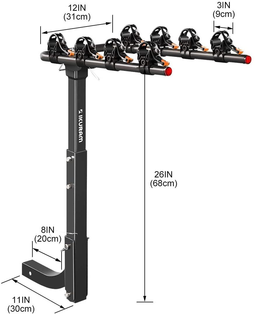 IKURAM 4 Bike Rack