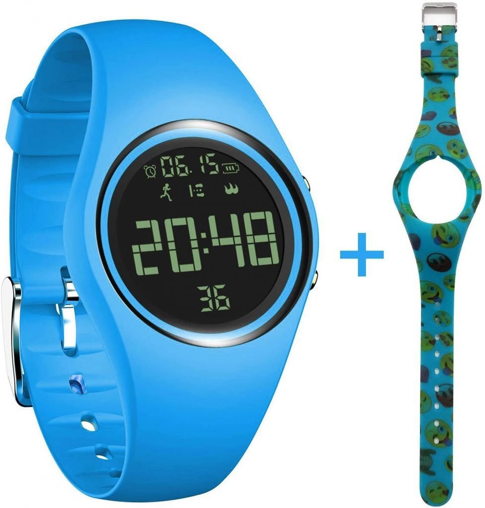 3D Non-Bluetooth Pedometer Watch Sport Wristband