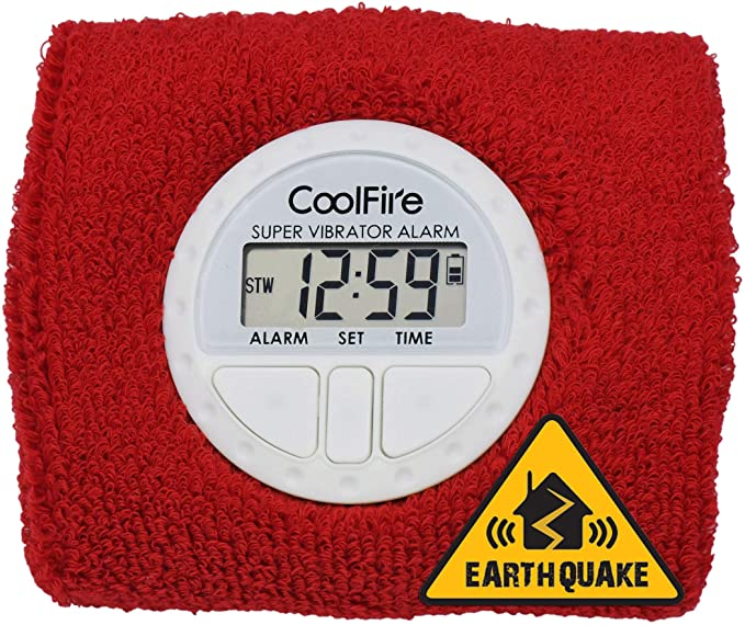 CoolFire Boom Vibrating Alarm Clock