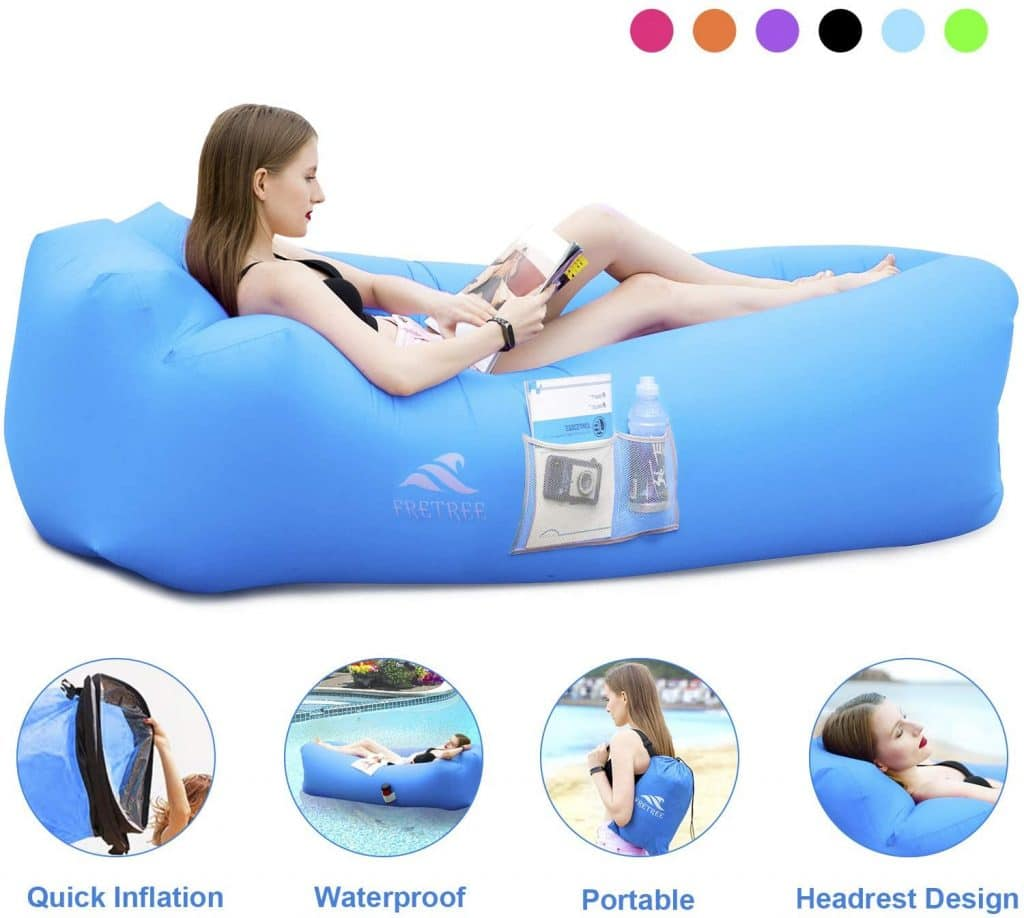FRETREE Inflatable Lounger Air Chair