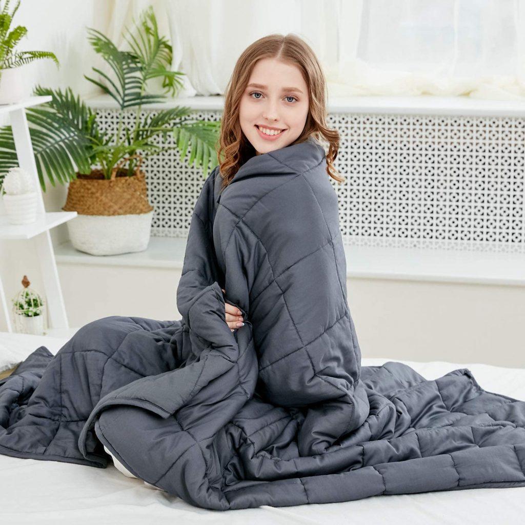 Larvinhom Weighted Blanket