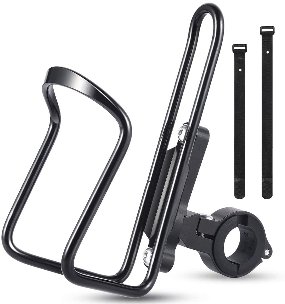 Bike Water Drink Bottle Cup Holder Cage Rack Handlebar Mountain Mount T1Y5