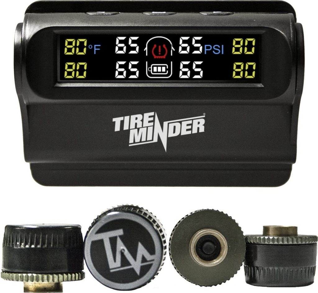 TireMinder Solar Powered Trailer TPMS