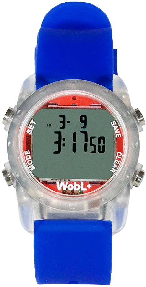 WobL+ World's Smallest & Best Waterproof Vibrating Timer