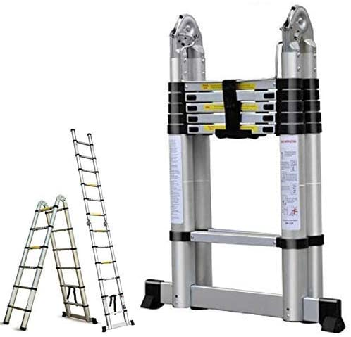 16.5FT Aluminum Telescoping Extension Ladder