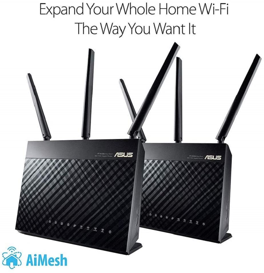 ASUS AC1900 Dual-Band Gigabit Wi-Fi Router