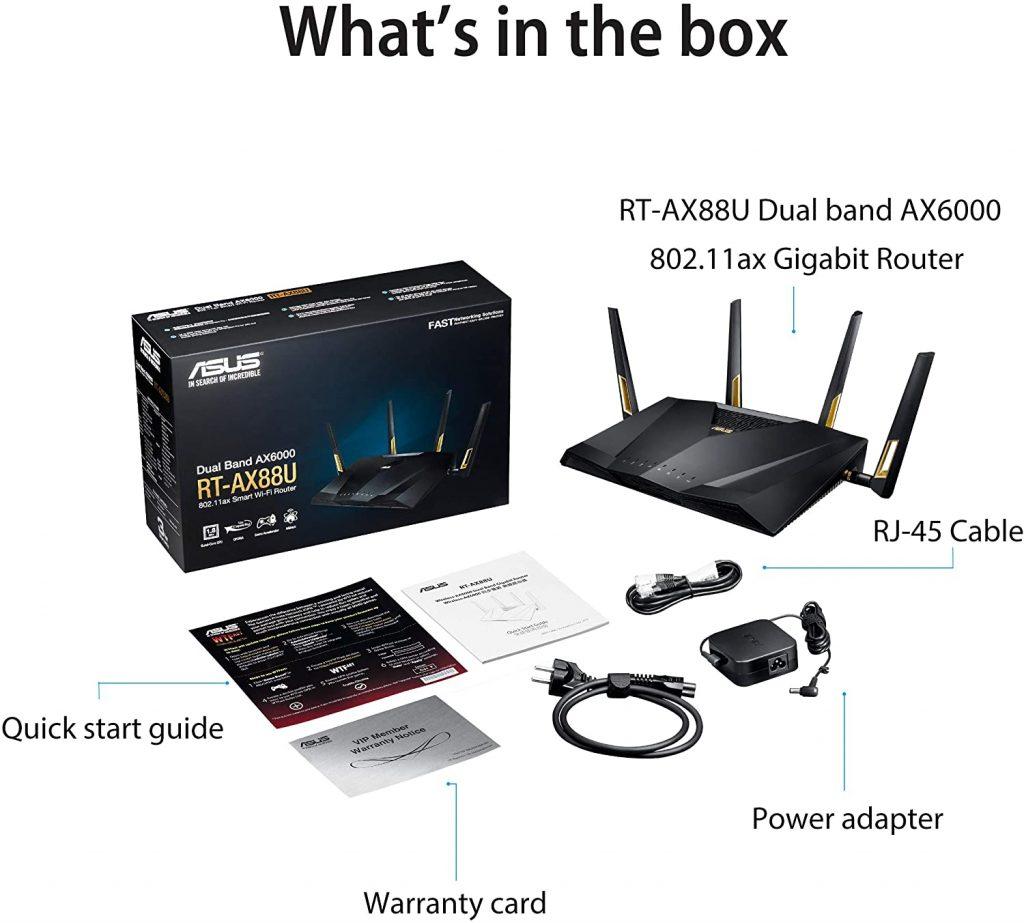Asus RT-AX88U AX6000 Dual-Band Wi-Fi Router