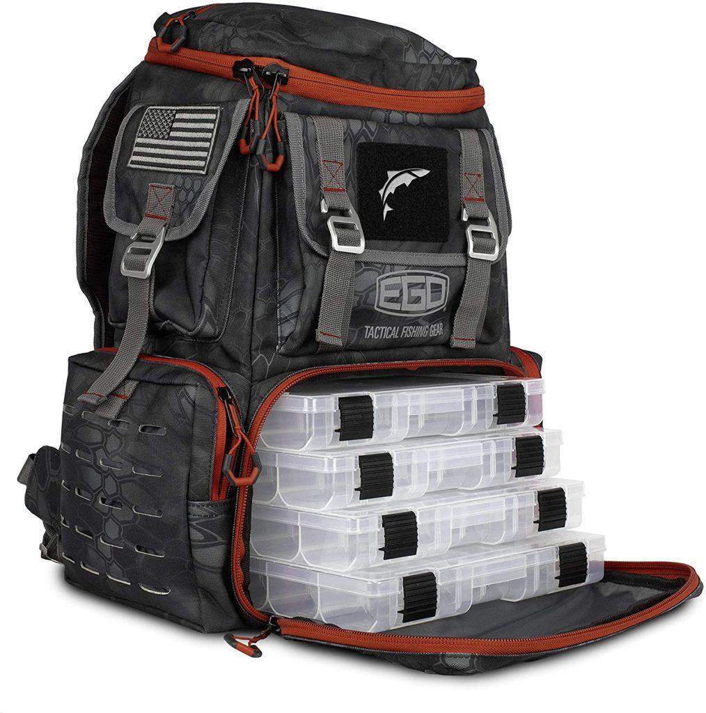 EGO Kryptek Tackle Box Storage Bag Backpack