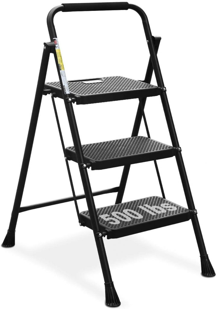HBTower 3 Step Ladder