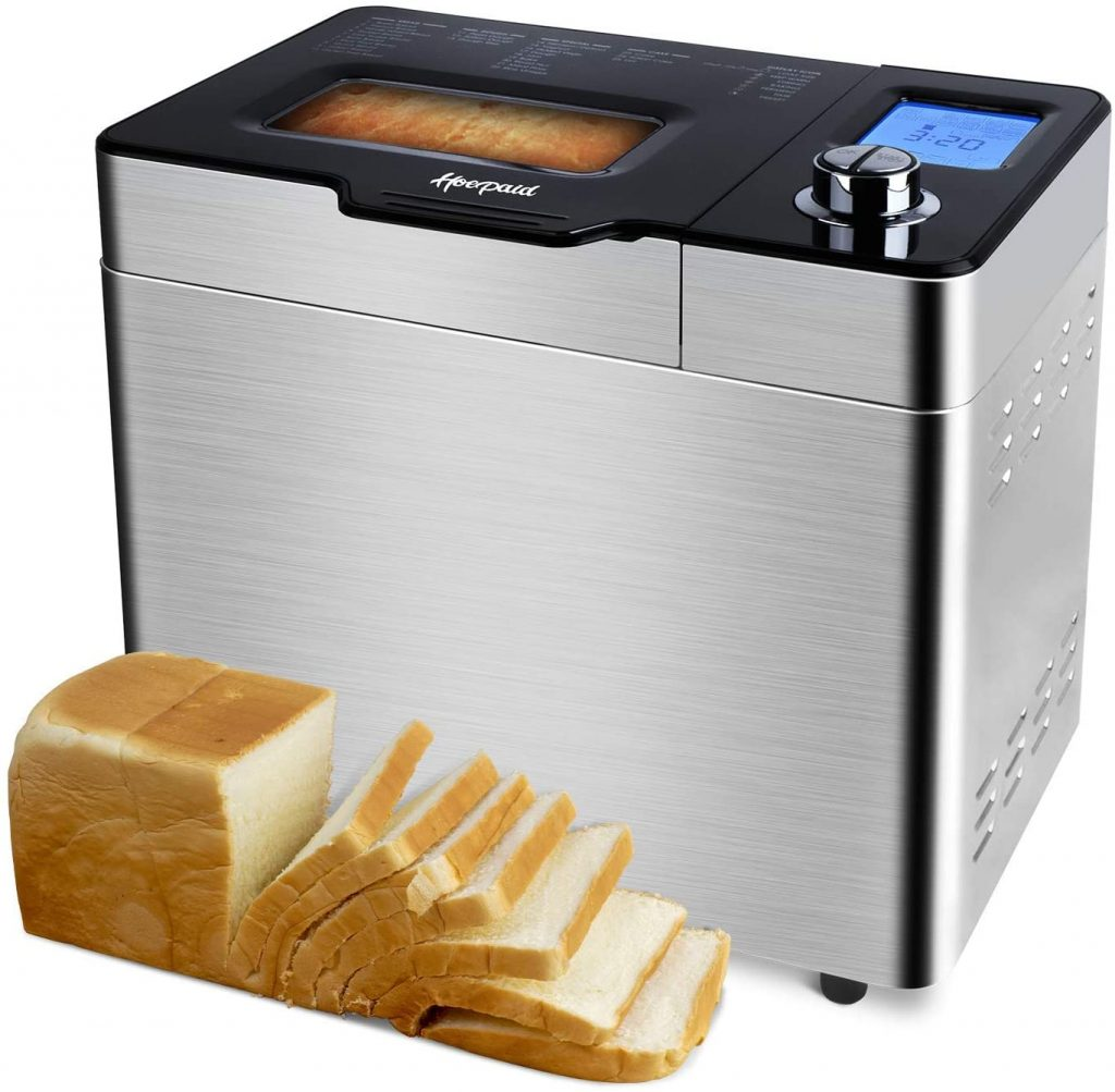 Hoepaid 25-in-1 Programmable Program Setting Bread Maker