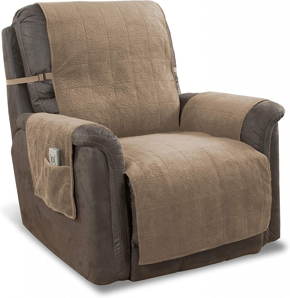 Link Shades Anti-Slip Heavy Duty Recliner Armchair Protector