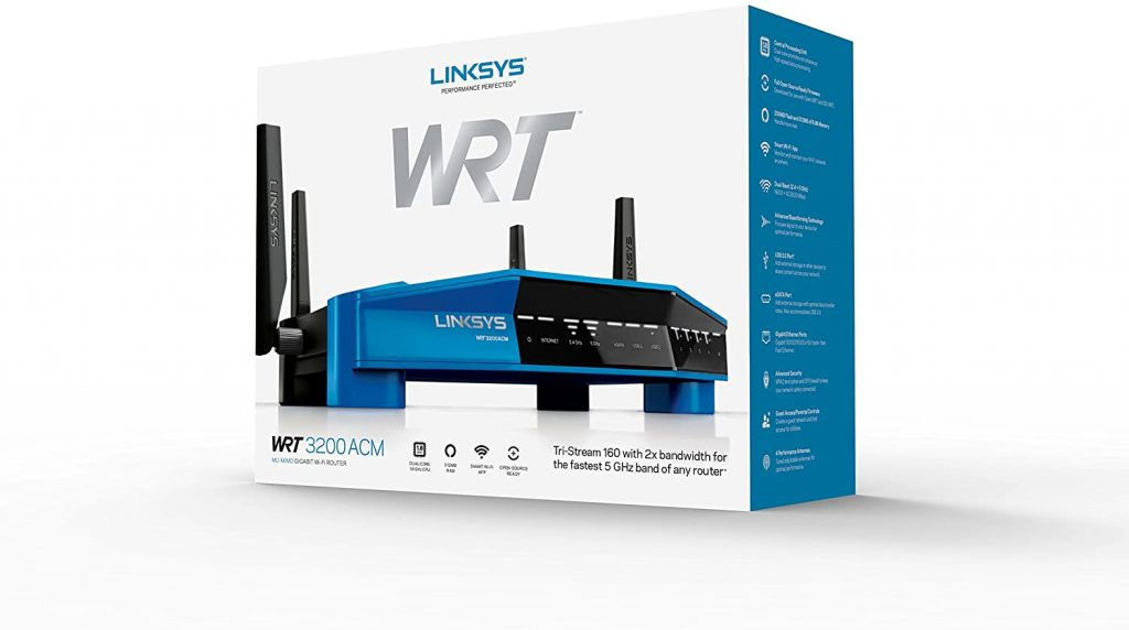 Linksys WRT3200ACM Dual-Band Open Source Router