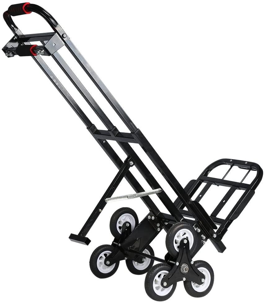 Mecete Enhanced Stair Climbing Heavy-Duty Hand Truck Cart