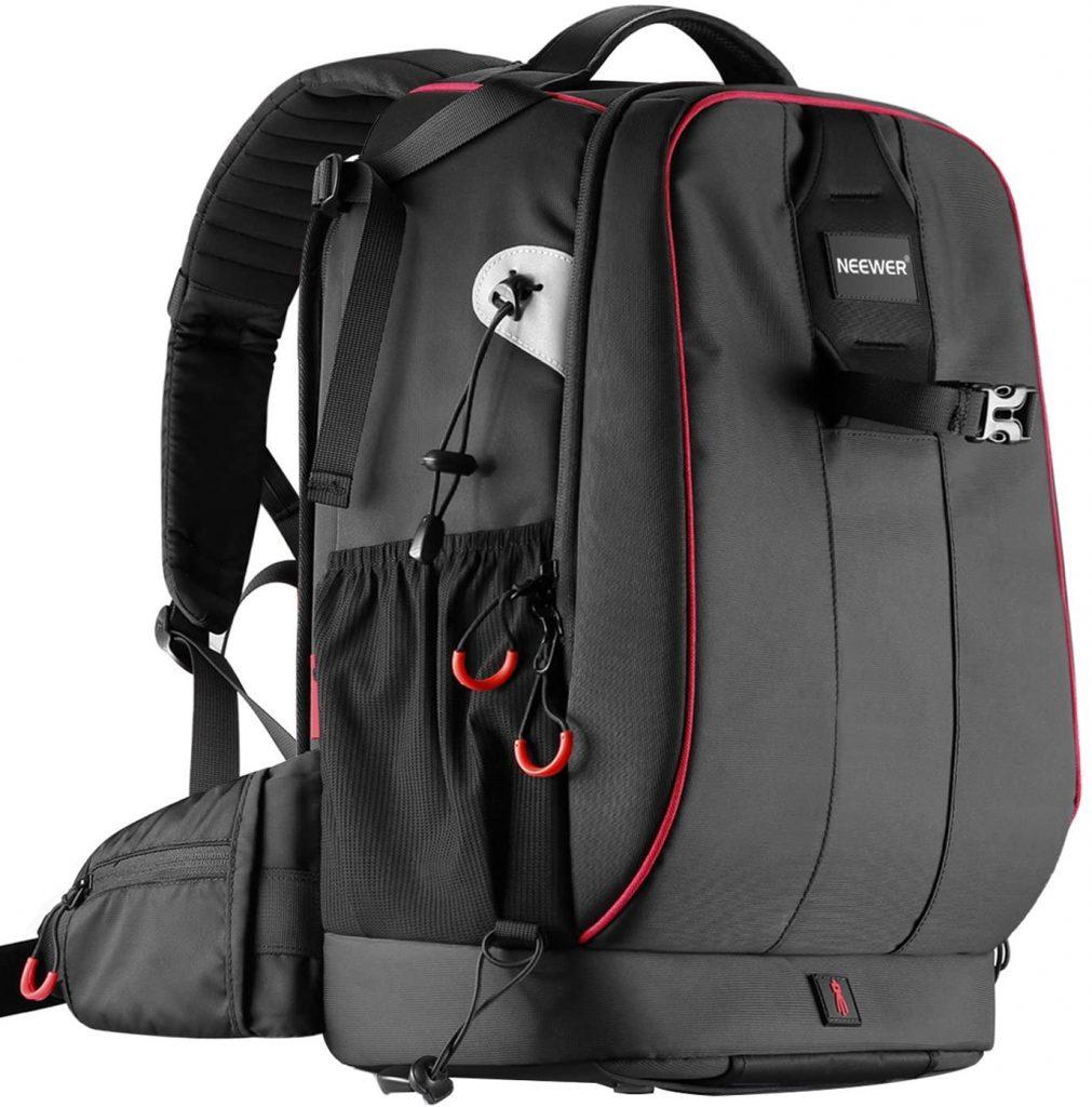 Neewer Pro Camera Case Waterproof Shockproof Storage Bag Backpack