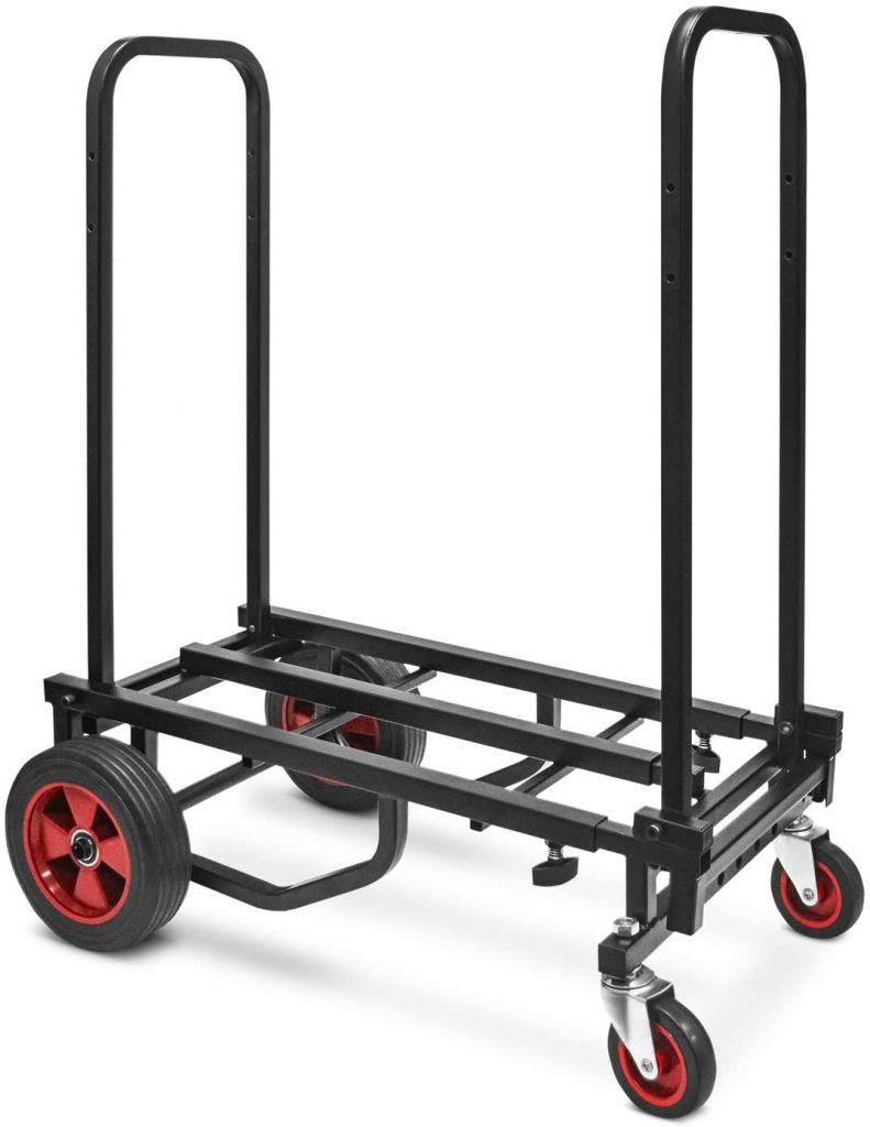 Pyle Adjustable Professional Hand Truck Dolly