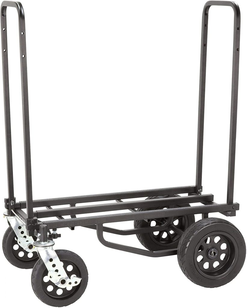 Rock-N-Roller R12STEALTH 8-in-1 Hand Truck Dolly