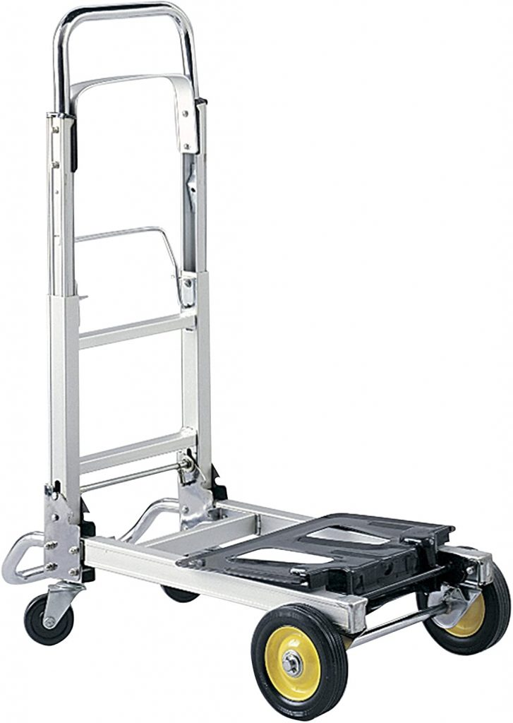 Safco Products Hide-Away Convertible Hand Truck Dolly