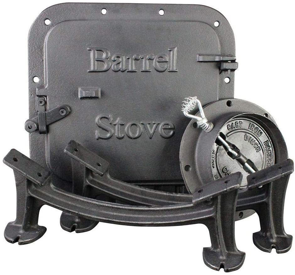 Vogelzang U.S. Stove BK100E Stove Barrel Stove Kit