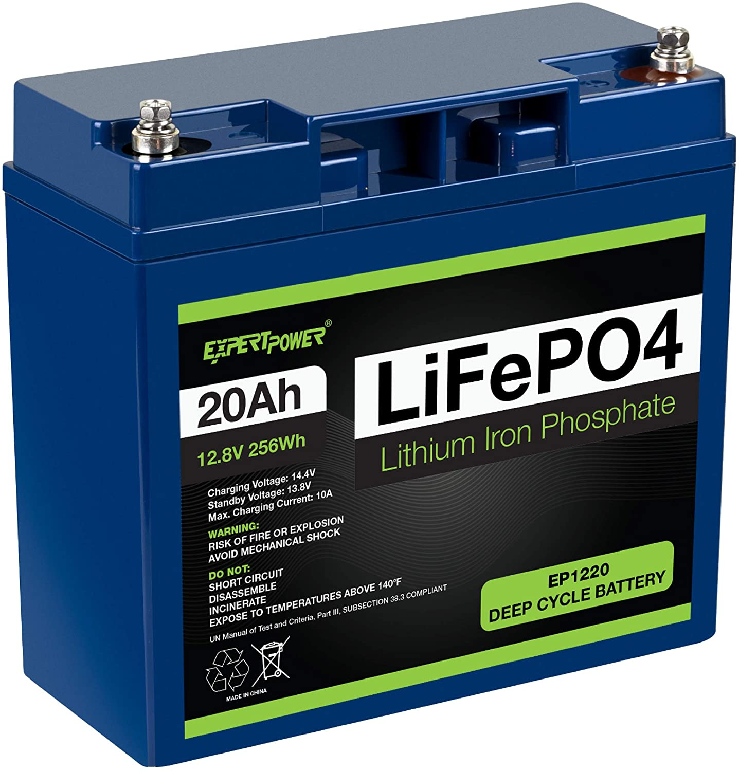 Gel and Li-Mn Battery ect Ampere Time Intelligent AC-DC Battery Charger Best Solution for Lithium Iron Phosphate LiFePO4 Lead-Acid AGM